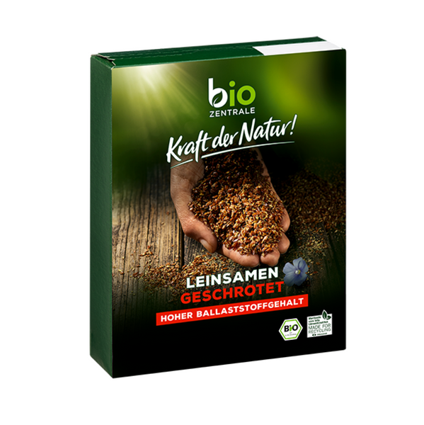 BioZentral Flaxseed, crushed 200g (€ 1,15 / 100g)