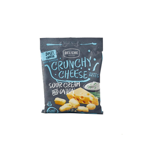 DELICHE Classic Crunchy Cheese Snack Sour Cream and Onion <span>35g (5,69€/100g)</span>