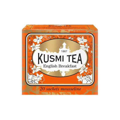 Kusmi Tea English Breakfast 20 bolsas 44g (22,70 € / 100g) - tienda online KetoUp