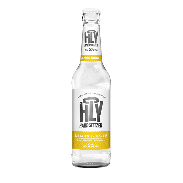 HOLY Hard Seltzer Lemon Ginger Bottle 330ml (€ 0,99 / 100ml)