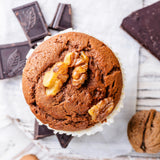 Muffin de chocolate KetoUp Low Carb 80g (3,74 € / 100g)