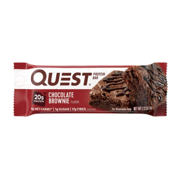Quest Bar Protein Bar Chocolate Brownie <span> 60g (5,28 € / 100g) </span>
