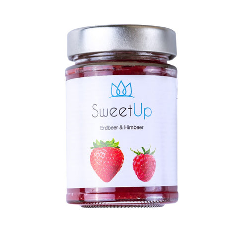 SweetUp strawberry raspberry <span> 180g (2,10 € / 100g) </span> - KetoUp online shop