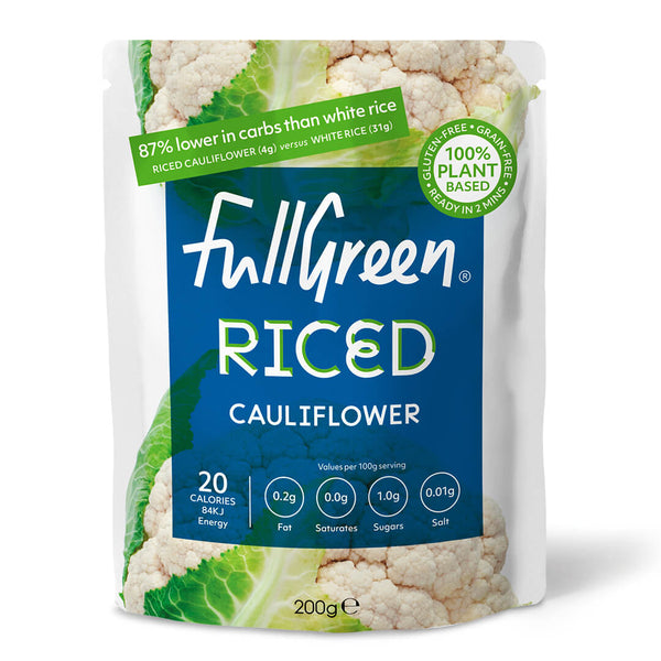 FullGreen Cauliflower Rice 200g (2,00 € / 100g)