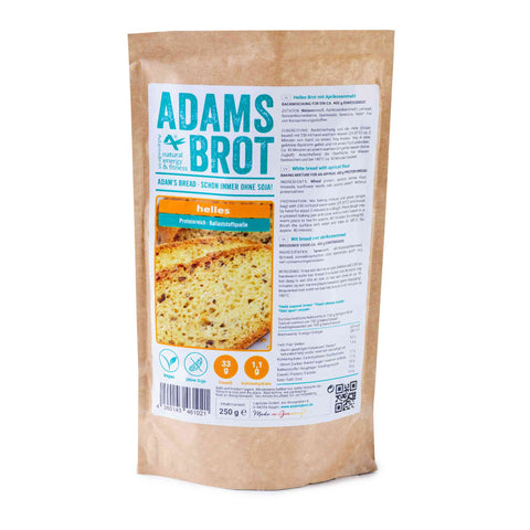 Adams bread light <span> 250g (1,80 € / 100g) </span> - KetoUp online shop