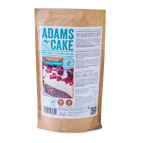 Adams Cake Base Cake Mix 125g (3,19 € / 100g) - KetoUp Onlineshop