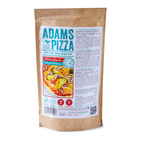 Adams Pizza Avanti 150g (3,33 € / 100g) - KetoUp online shop