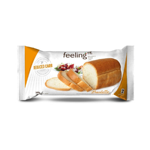 FeelingOk Weißbrot Bauletto Optimize <span>300g (3,33€/100g)</span> - KetoUp Onlineshop