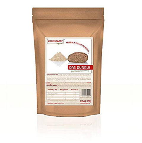 Konzelmann's Das Dunkle Lower Carb Bread Mix 370g (1,21 € / 100g) - KetoUp Onlineshop