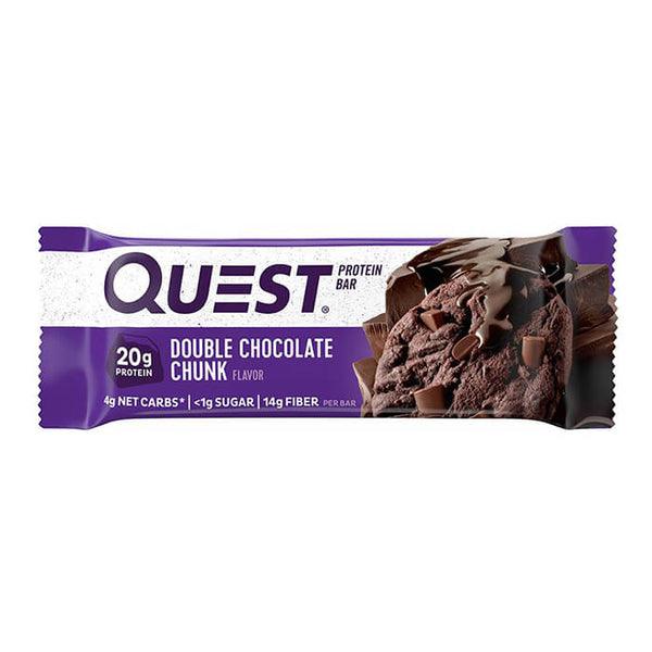 Quest Bar Protein Bar Doble trozo de chocolate 60g (6,31 € / 100g)
