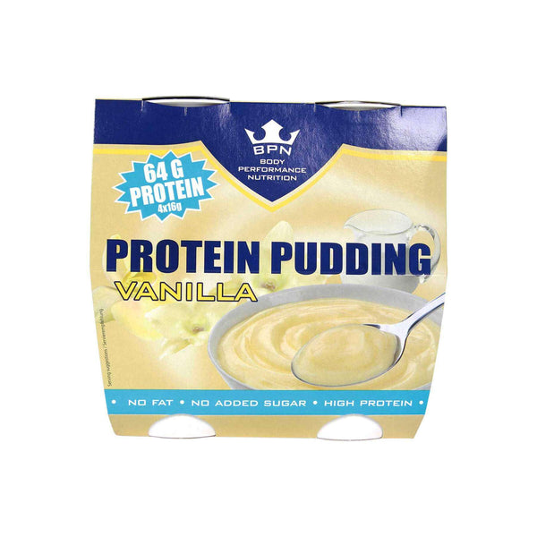 BPN Protein Pudding Vanilla 4er Pack <span>600g (0,74€/100g)</span> - KetoUp Onlineshop