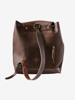 Sea Bag in Brown from Rear