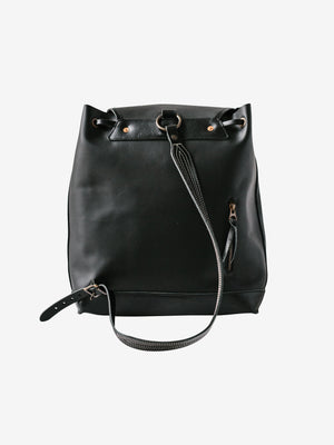Sea Bag in Black from Rear