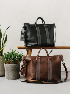 Leather Travel Totes