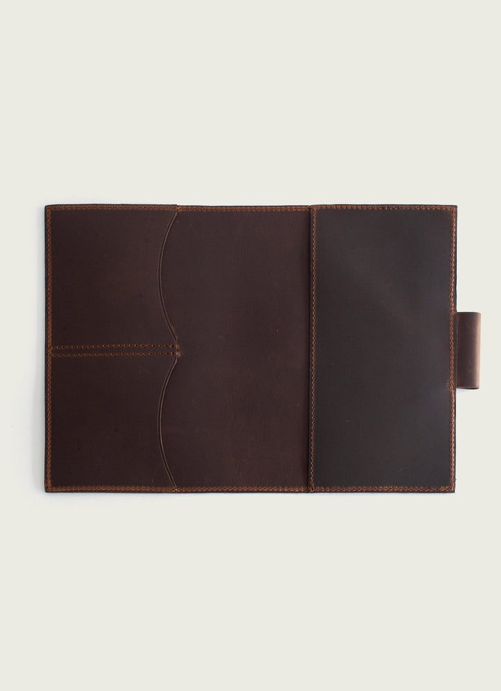 Leather Moleskine Cover, Brown