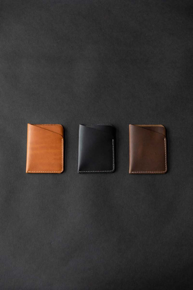 slim wallets in a row