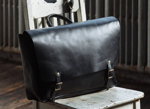 24 Hour Messenger Bag, Black