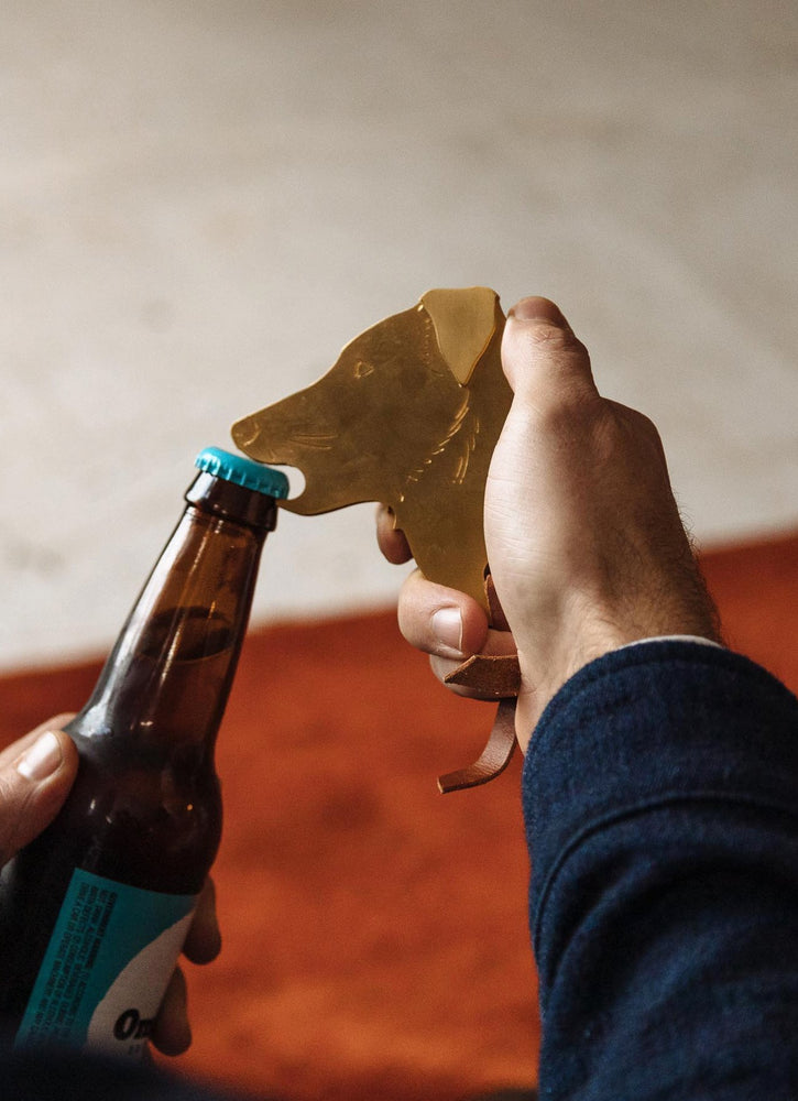 The Dog Head Bottle Opener