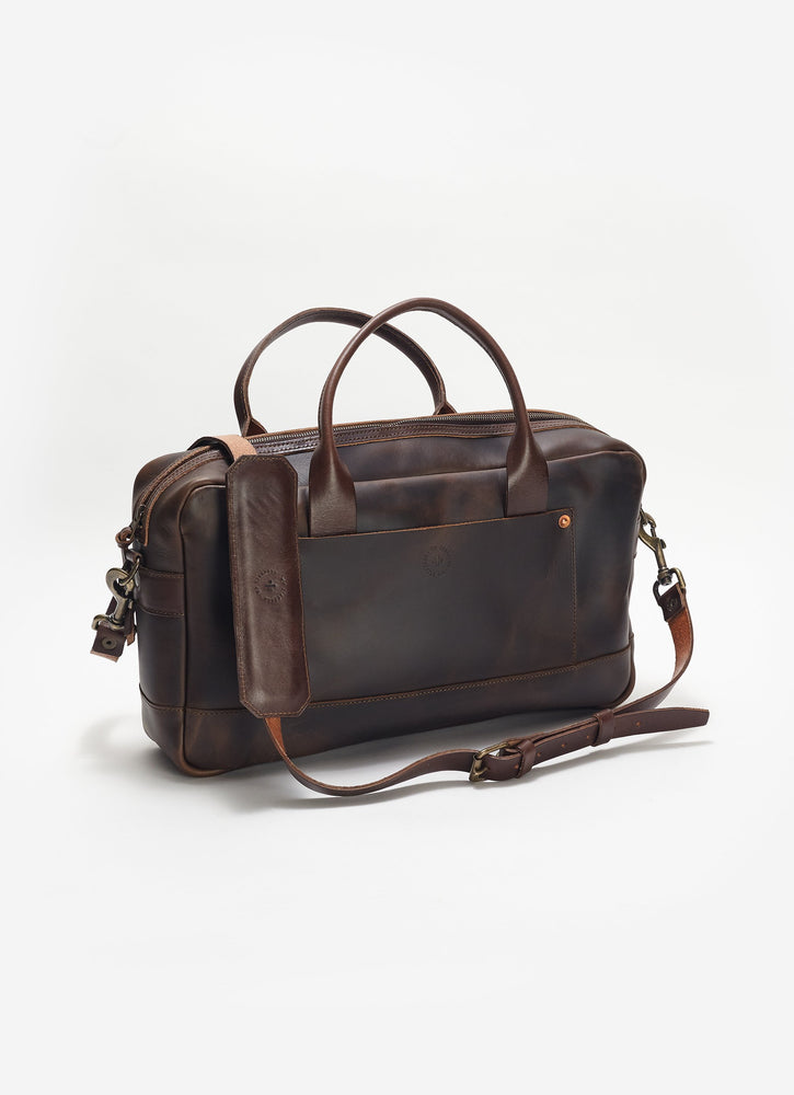 Zip-Top Briefcase