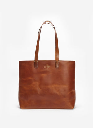 Stitch Tote Bag, Tan
