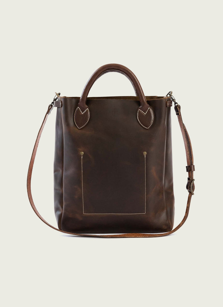 Market Tote, Brown