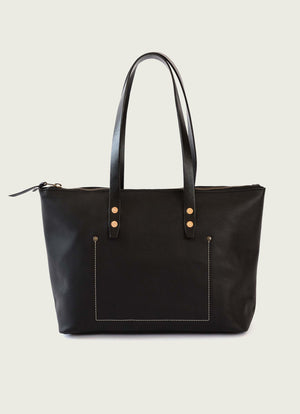 Zipper Tote Bag