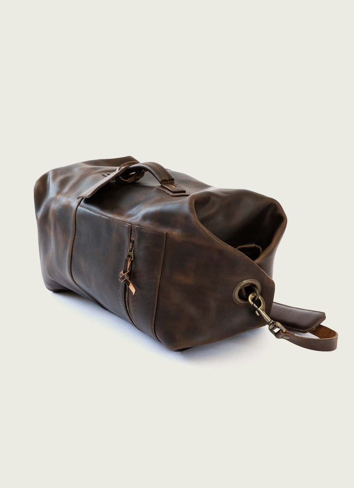 Military Duffle Bag, Brown