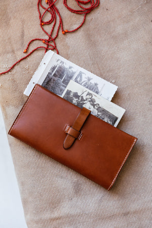 Large Wallet, Tan