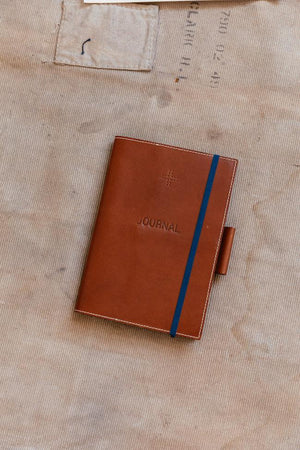Leather Moleskine Cover, Tan