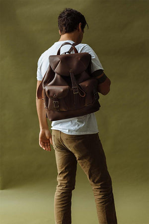 Rucksack in Brown