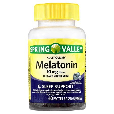 Spring Valley Adult Gummies Melatonin 10mg Pectic - Whole Choice