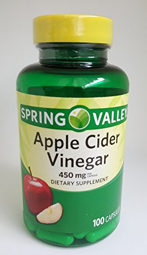 Spring Valley Apple Cider Vinegar 450 mg Dietary Supplement 100 capsules - Whole Choice