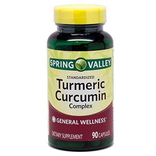Spring Valley - Turmeric Curcumin Complex, 90 Capsules - Whole Choice