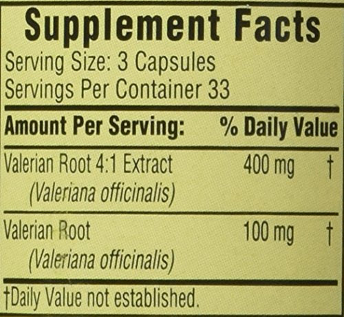 Spring Valley - Valerian Root Extract, 100 Capsules - Whole Choice