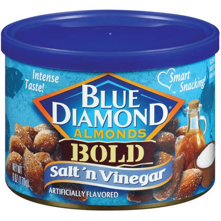 Blue Diamond Almonds Bold Salt 'n Vinegar Almonds, 6 oz - Whole Choice