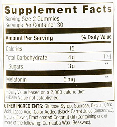 Spring Valley Adult Gummy Melatonin Sleep, 120 Gummies: Health & Personal Care - Whole Choice