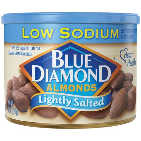 Blue Diamond Almonds, Lightly Salted Almonds, 6 Oz - Whole Choice