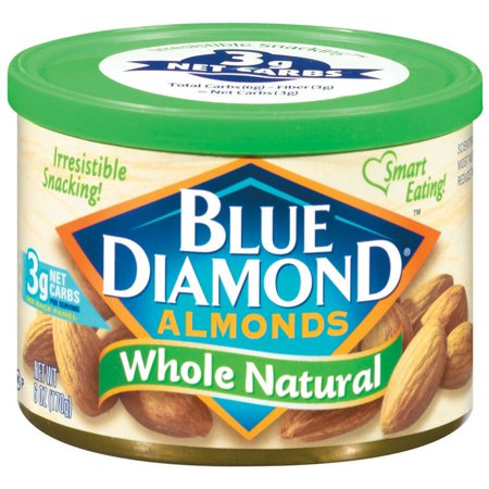 Blue Diamond Whole Natural Almonds, 6 oz - Whole Choice