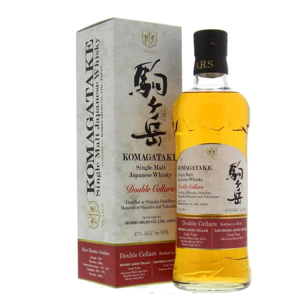 Mars Distillery Komagatake Double Cellars 5 Year Old Single Malt Japanese Whisky