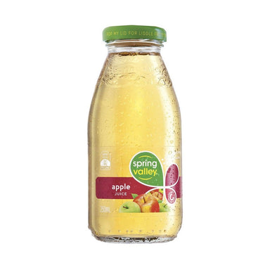 Spring Valley Apple Juice 250ml (Case)