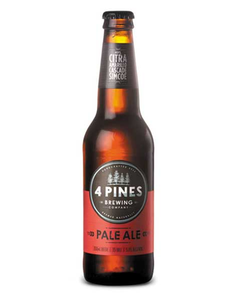 4 Pines Pales Ale (Case) - Kent Street Cellars