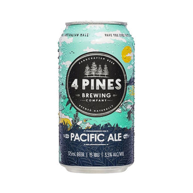 4 Pines Pacific Ale Cans (Case) - Kent Street Cellars