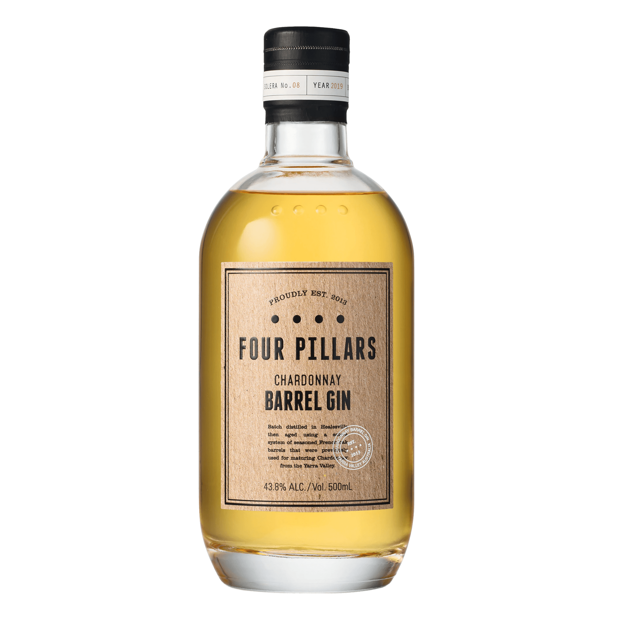Four Pillars Chardonnay Barrel Gin 500ml - Kent Street Cellars