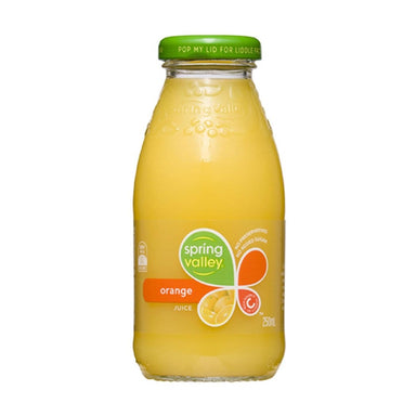 Spring Valley Orange Juice 250ml (Case)