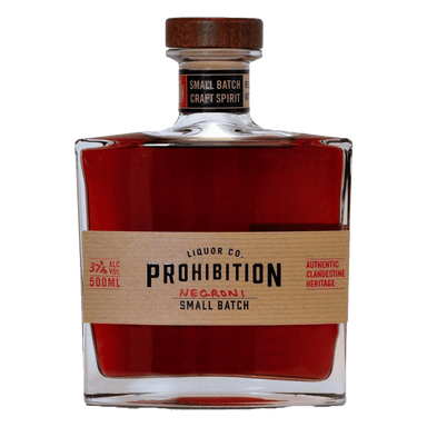 Prohibition Bathtub Cut Negroni 500ml - Kent Street Cellars