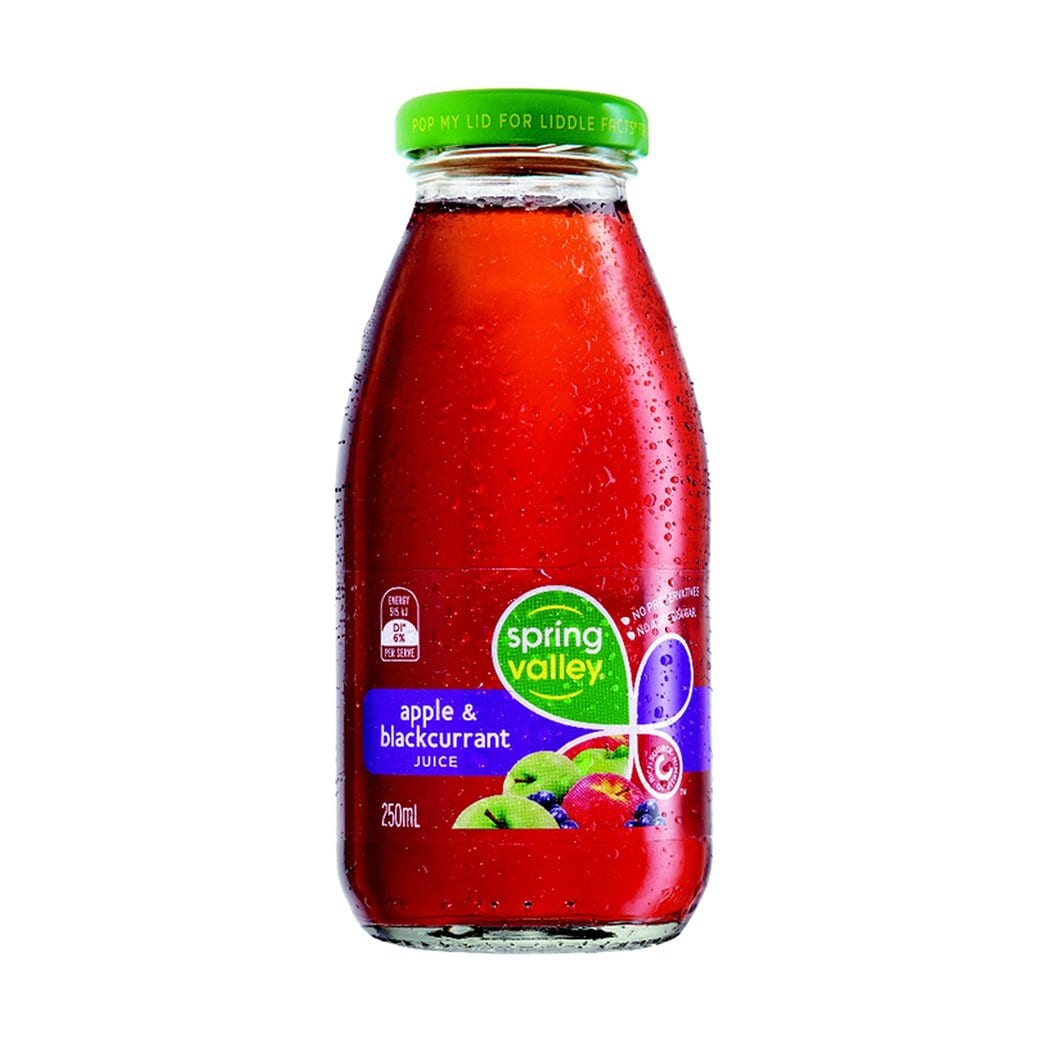 Spring Valley Apple Blackcurrant 250ml (Case)
