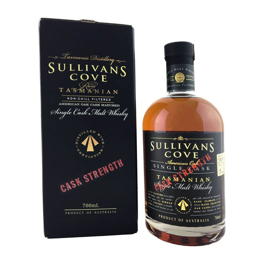 Sullivans Cove American Oak Cask Strength Single Malt Whisky