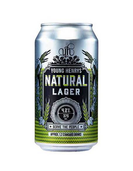 Young Henry's Natural Lager (6 Pack) - Kent Street Cellars