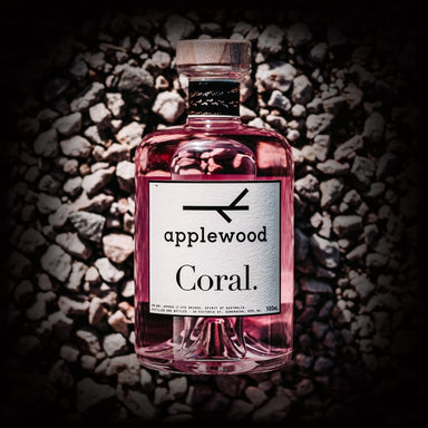 Applewood Coral Gin 500ml - Kent Street Cellars