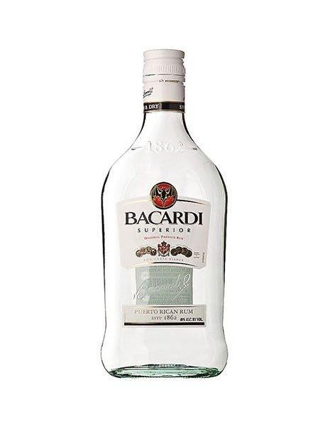 Bacardi Carta Blanca Superior White Rum 375ml - Kent Street Cellars